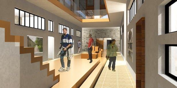 Interior - Gallery Space