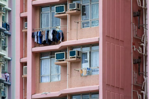 Hong Kong's colorful pubic housing. Image: See-ming Lee/Flickr.