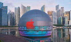 Foster + Partner's new Apple Marina Bay Sands takes social media by storm