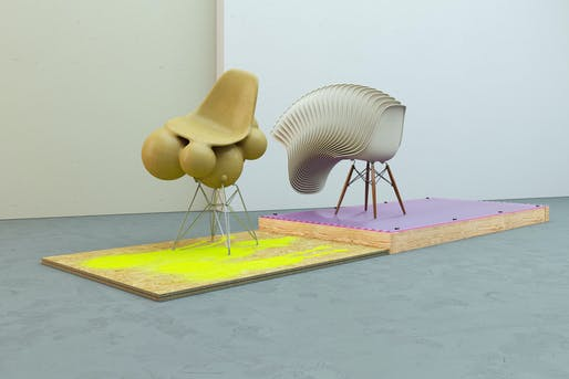 Eames bulbous fiberglass remix. Work and Image © Chris Labrooy