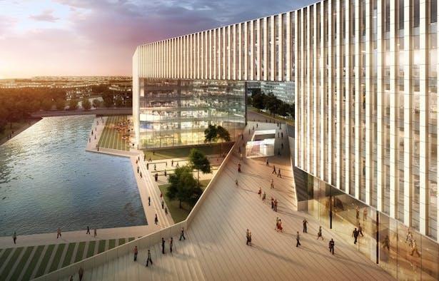 Kingboard Plaza Shanghai Phase 2 by Aedas