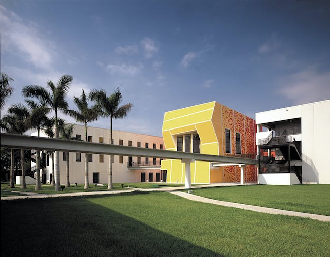 Bernard Tschumi, School of Architecture 1999-2003 Miami, Florida © BTA