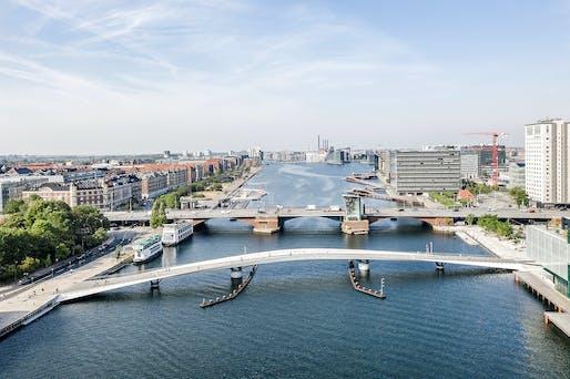 Lille Langebro in Copenhagen, Denmark by WilkinsonEye and Uban Agency. Photo: Rasmus Hjortshøj.