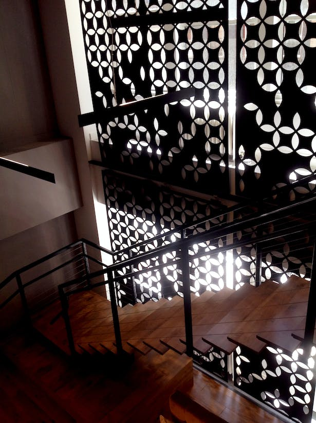 Connecting Stair
