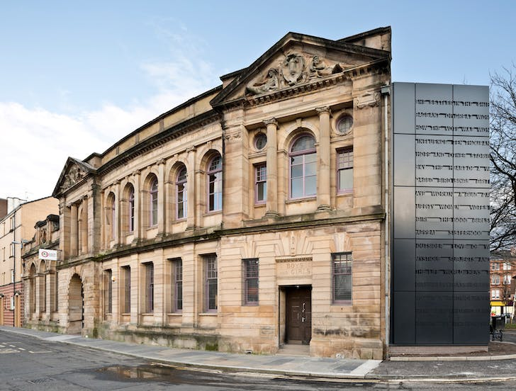 The redeveloped Glasgow Women's Library, courtesy of Collective Architecture.