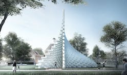 Serpentine unzips Bjarke Ingels' Pavilion and 4 Summer Houses