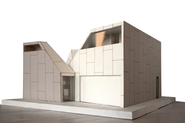 (Model) Garage and Front