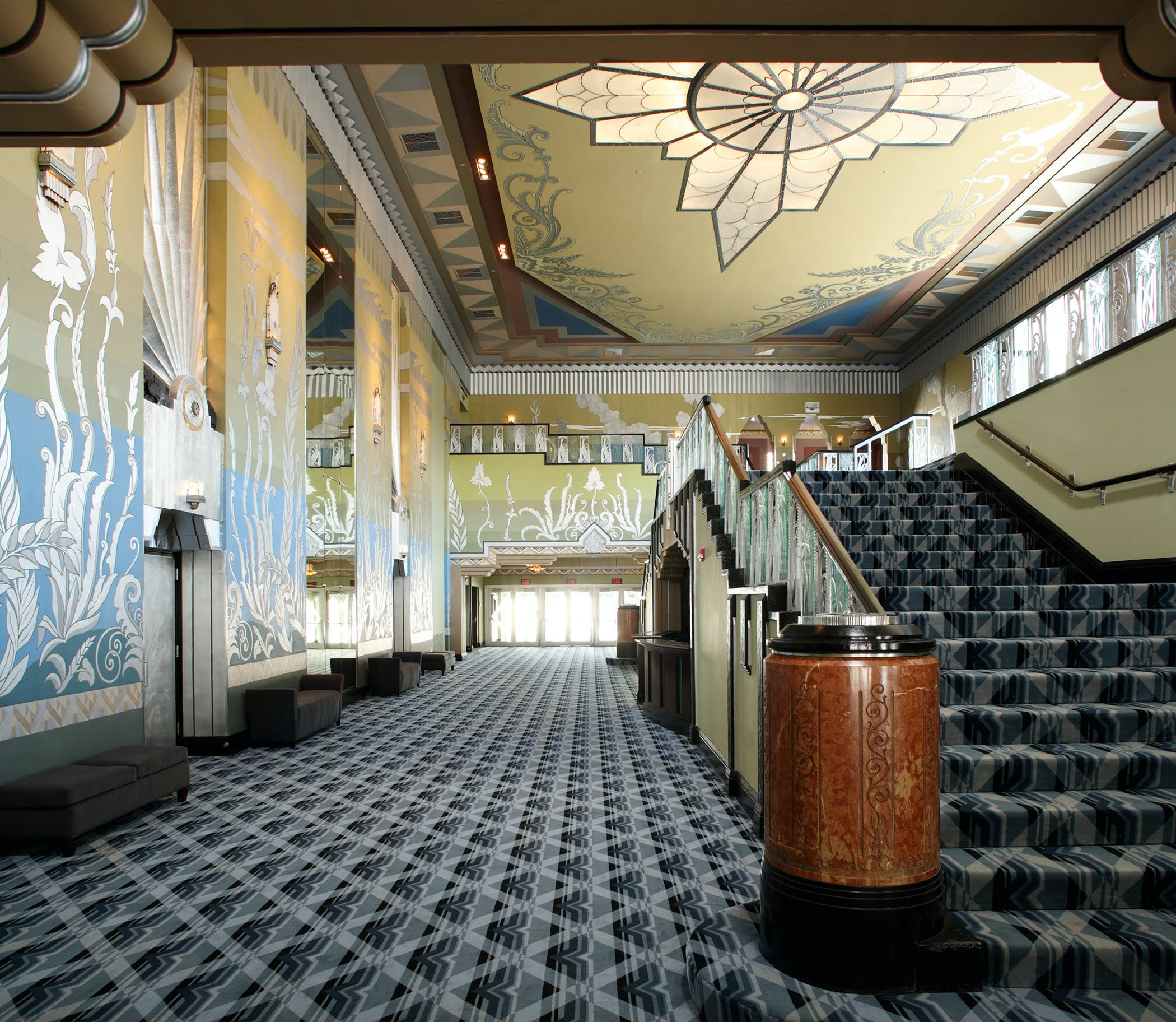 The Martin Woldson Theater At The Fox Evergreene Architectural Arts Archinect