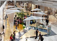 Spring Pavilion, Financial Street Mall, Beijing, China