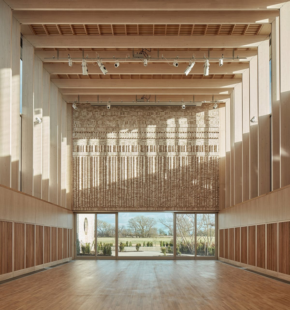 MUMA combines smart details and function in Storey\'s Field Centre ...