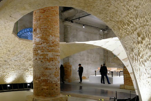 Armadillo Vault. Structural Designer: Block Research Group and ODB Engineering. Architect: Block Research Group. Image courtesy of 2017 Structural Awards