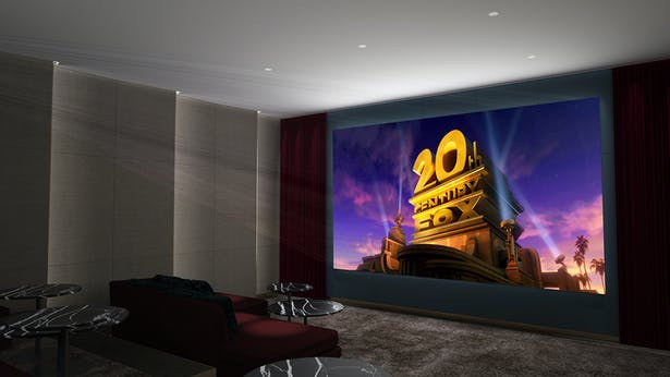 home cinema - Rendering by Matthias Kisch