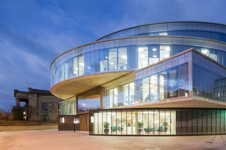 Blavatnik School of Government by Herzog & De Meuron. Photo: Iwan Baan