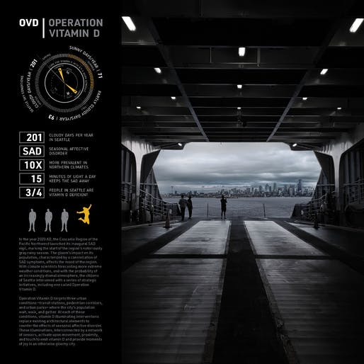 ​WILD CARD: OPEN CATEGORY Winner: Operation Vitamin D by Fraser + Fogle Architects. Image: Fraser + Fogle Architects.