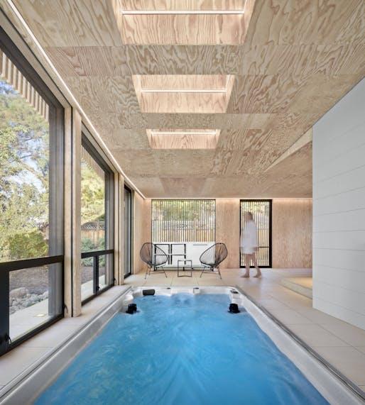 Los altos poolhouse by framestudio located in los altos ca image framestudio