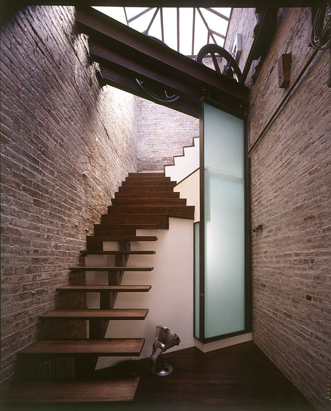East Village Loft in New York, NY by James Wagman Architect, LLC