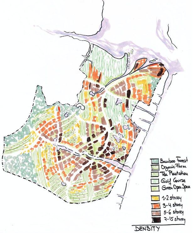 Density sketch