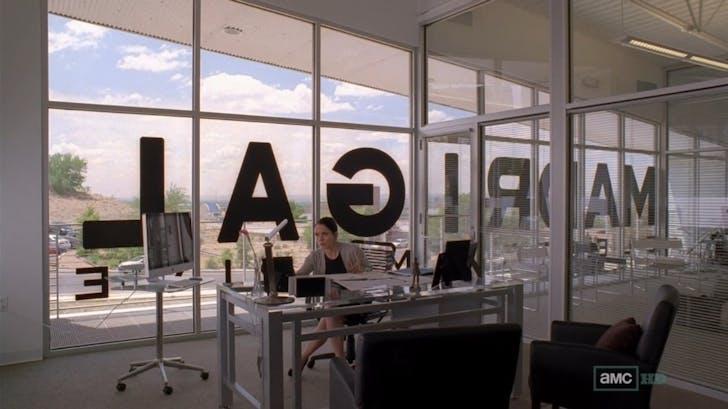 Screenshot from 'Breaking Bad', credit Julia Ingalls.