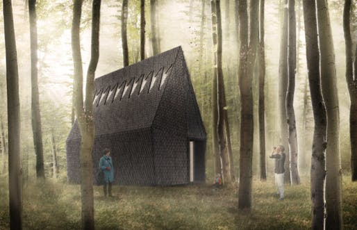 Asplund Pavilion rendering by MAP Studio. Image: ALPI.