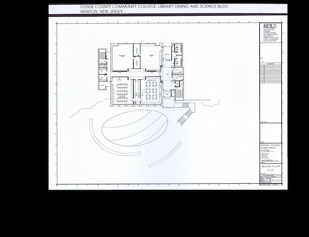 Second Floor Plan - Laboratories
