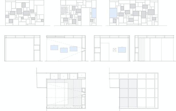 permanent exhibition area: room A
