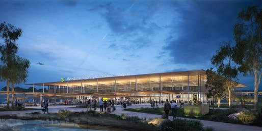 Image courtesy Zaha Hadid Architects + Cox Architecture.