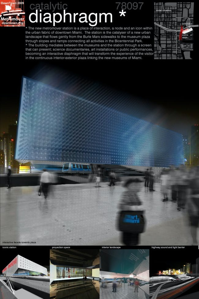 "Winner of the 2009 Metro Mover competition: team #78097 ""Office 24/7″ from Melbourne, Australia: Rosalea Monacella, Craig Douglas, and Armando Oliver Suinaga"