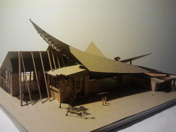 sustainable design studio- water capture model