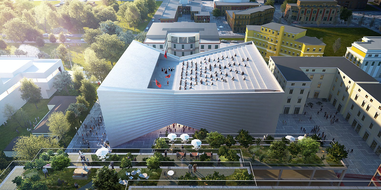 BIG tapped to build new, bow-tie shaped National Theater of