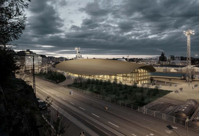 'Cityscape', proposal GH-8933903808 for the Guggenheim Helsinki competition.