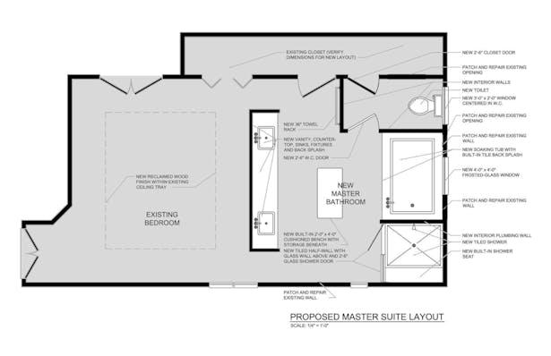 Private Residence Master Bathroom Renovation