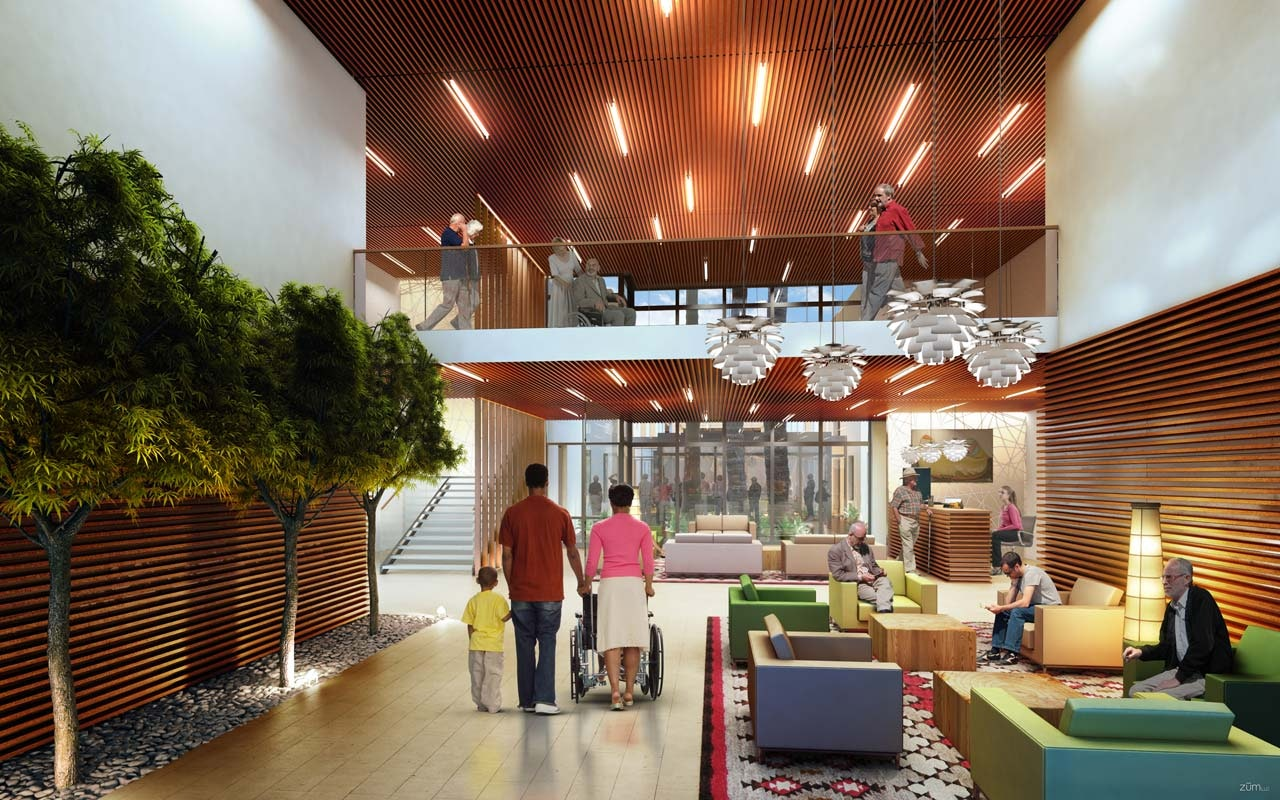 Horizon Ridge Nursing Facility Wz Architecture Archinect