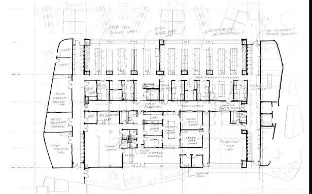 First Floor Layout Sketch