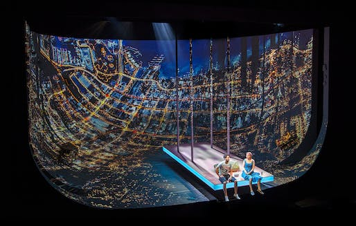 Set Design of the year: Ugly Lies the Bone, London by Es Devlin. Image: Frame Awards.