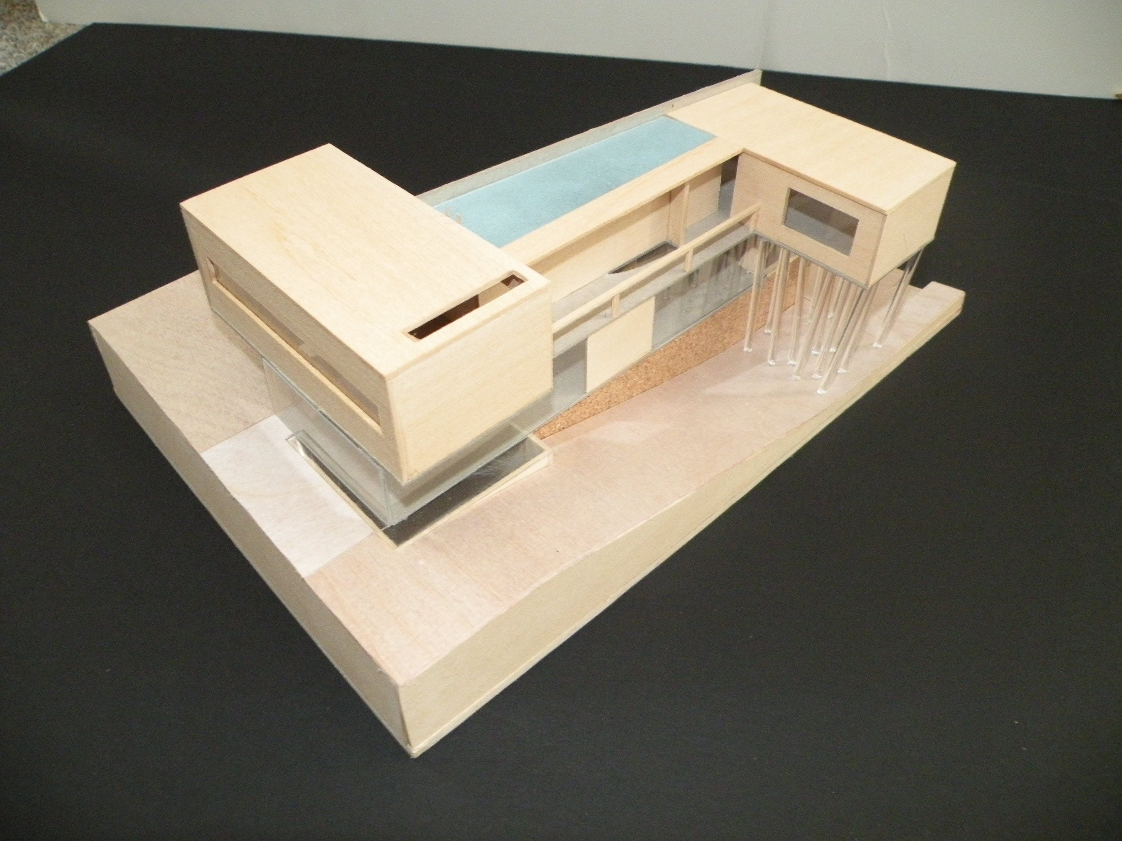 Model villa dall 39 ava justin darrow archinect for Dall ava parquet