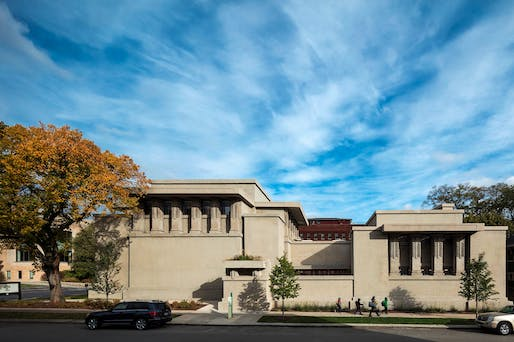 ​Special Award of Restoration Excellence: Unity Temple. Photo: Tom Rossiter.