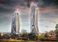BESA Kross Towers in Ankara,Turkey