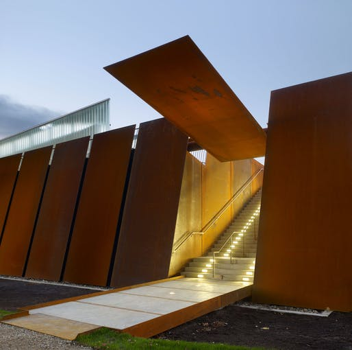 Fort York Visitors Centre by Patkau Architects and Kearns Mancini Architects. Image: Tom Arban Photography.