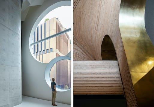 The Emil Sodersten Award for Interior Architecture: Phoenix Central Park, Durbach Block Jaggers and John Wardle Architects, NSW. Photo: Martin Mischkulnig/Tom Ferguson.