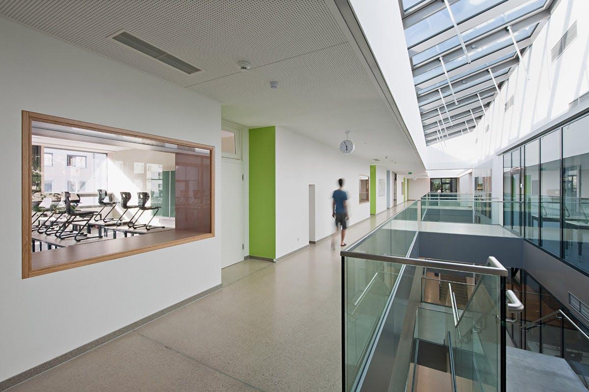 Showcase Stelzhamerschule Linz Features Archinect