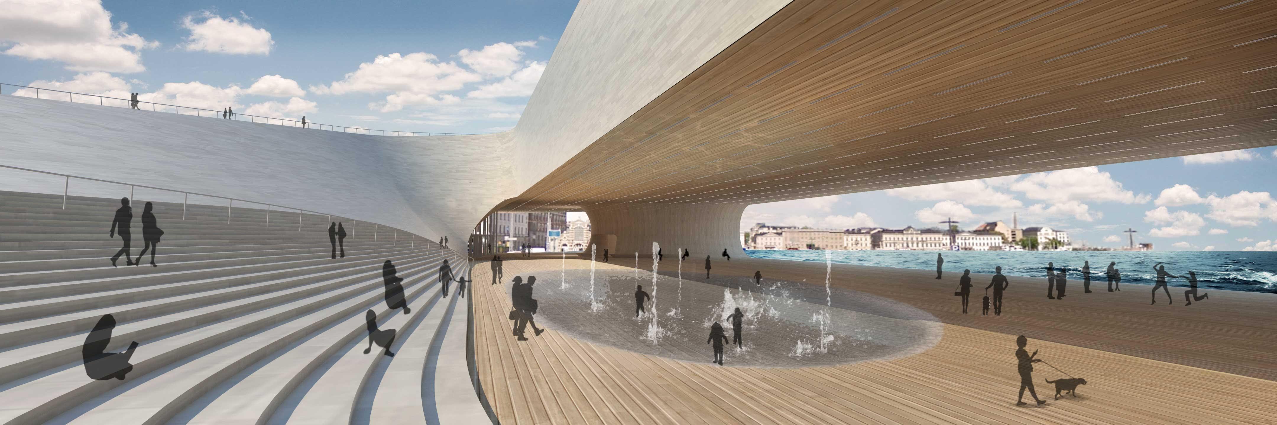 Urban Living Room for Guggenheim Helsinki | Slade Architecture ...