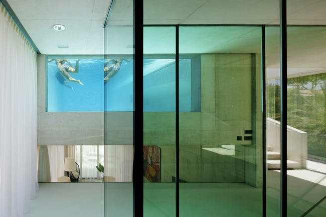Jellyfish House in Marbella, Spain by Wiel Arets Architects