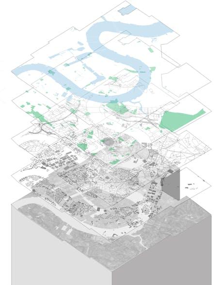 Urban landscape concept - Diagram