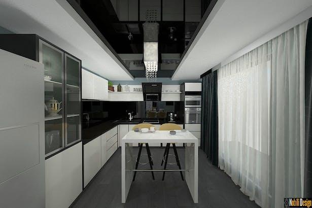 Vila cu 5 camere amenajata in stil modern