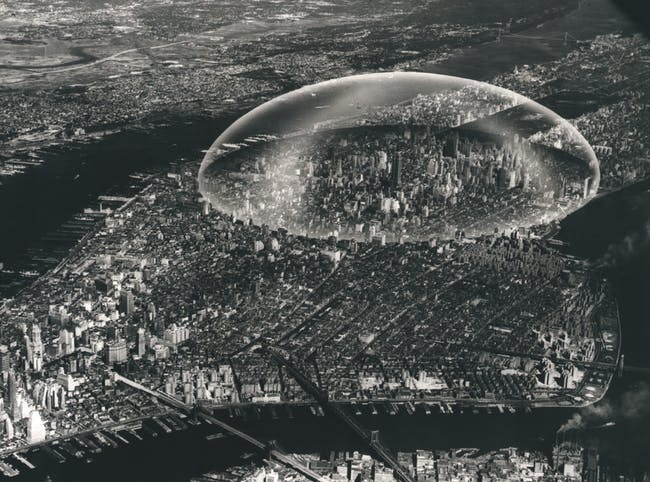 Buckminster Fuller Dome (1961). Courtesy of Distributed Art Publishers, Inc.