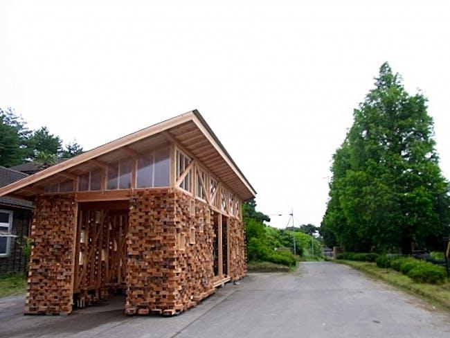 project for a community gathering place Minami san riku via Will Galloway