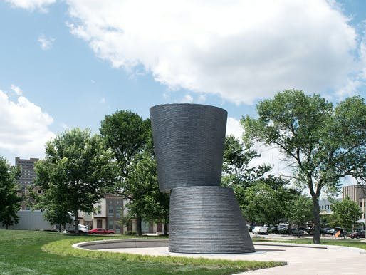Sculpture/Art Installation/Non-building Structure - Merit Award: A Monumental Journey, Des Moines, IA. Structural Engineer: KPFF Consulting Engineers, Des Moines, IA. Architect: substance, Des Moines, IA. Photo: substance.