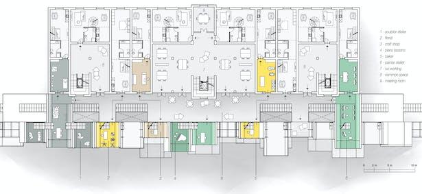 Palazzina Comando 2nd Floor