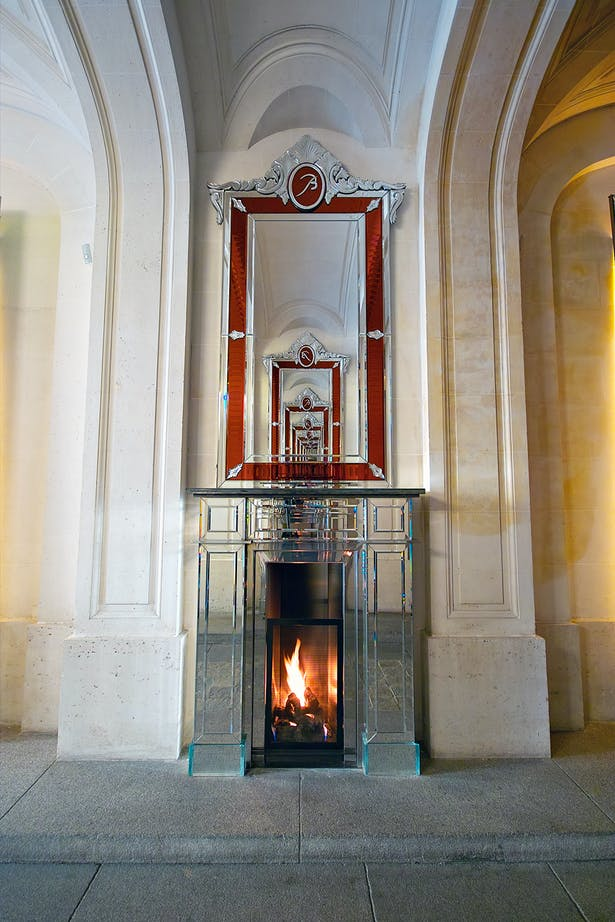 Philippe Starck fireplace by Bloch Design for Baccarat 5