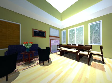 Living/Dining Room Space